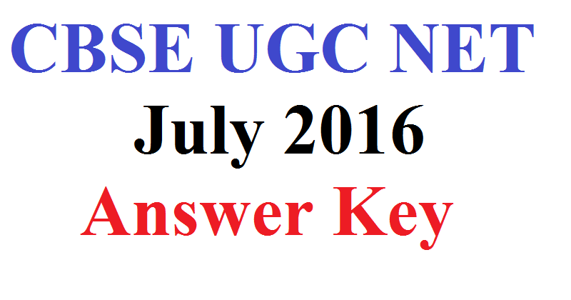 CBSE-UGC-NET-July-Answer-Key-2016-For-Paper-1-2-3