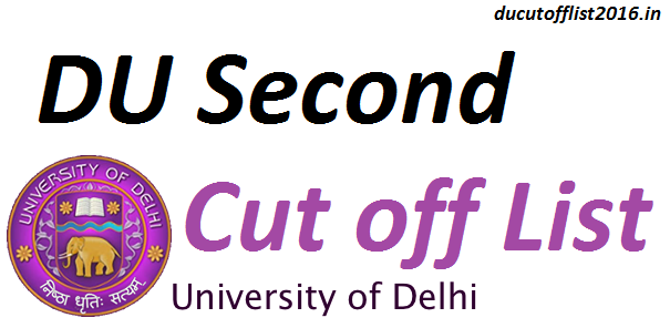 DU-Second-cut-off-list-2016