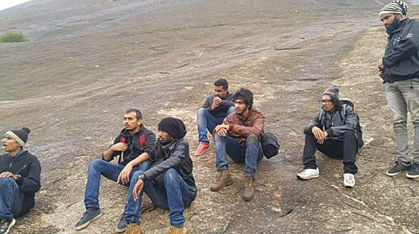 Delhi-based 11 trekkers stuck at hillock and rescued after two hours