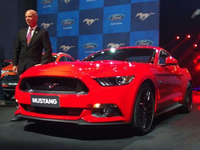 Ford Mustang GT Finally Launched in India1