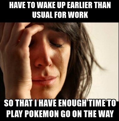 Funny Memes & Tweets On Pokemon Go For All The Users Who Have Got Addicted To It!3