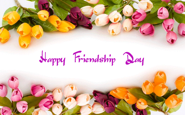 Happy-Friendship-Day-Wallpaper-with-Roses