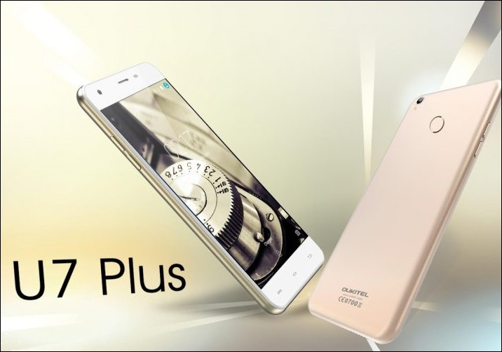 Oukitel U7 Plus Smartphone Launched with Fingerprint scanner and 2GB of RAM in China