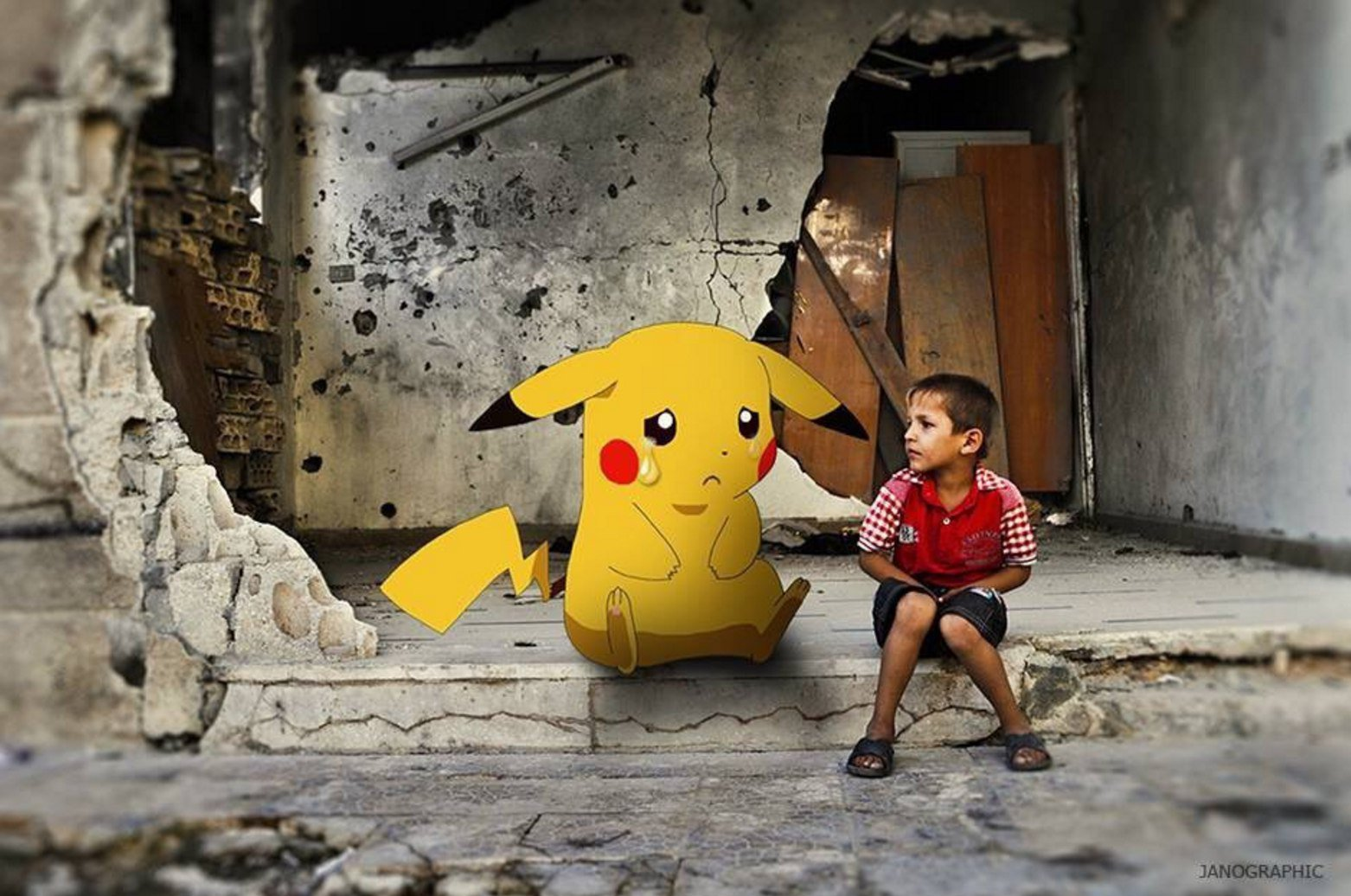 Pokemon Go highlights plight of Syrian kids in war-torn country