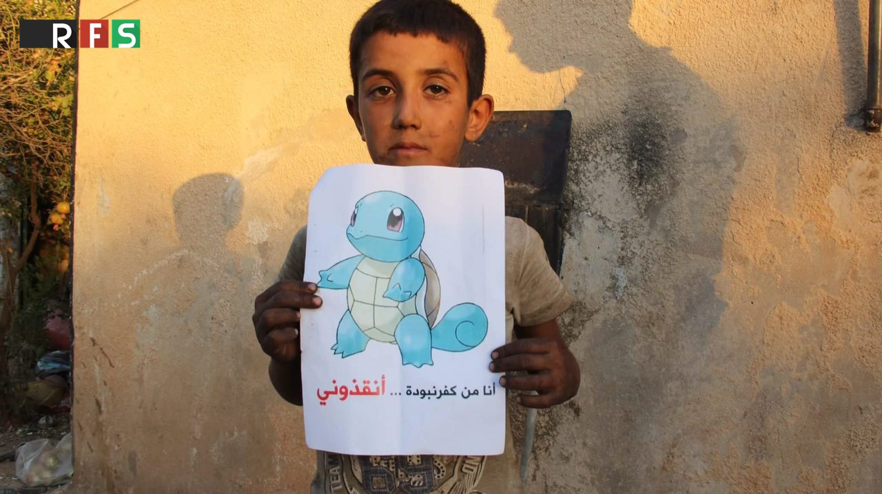 Pokemon Go highlights plight of Syrian kids in war-torn country3