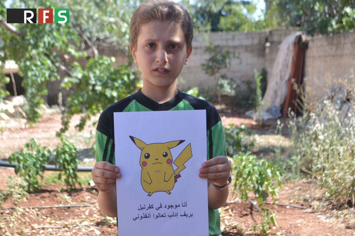 Pokemon Go highlights plight of Syrian kids in war-torn country4