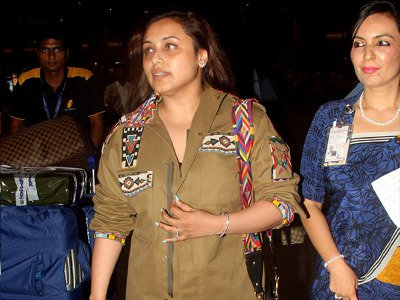 Rani Mukerji's FIRST PUBLIC appearance post baby Adira's birth3
