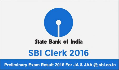 SBI-Clerk-Preliminary-Result-2016-e1465972495140