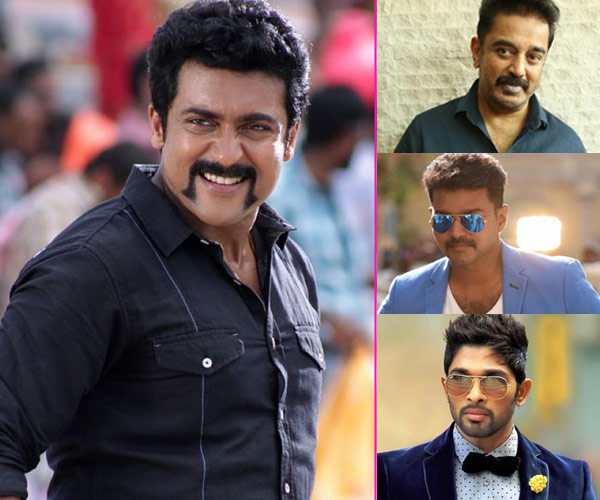 Suriya defeats Vijay, Allu Arjun and Kamal Haasan as he gets one million followers on Twitter