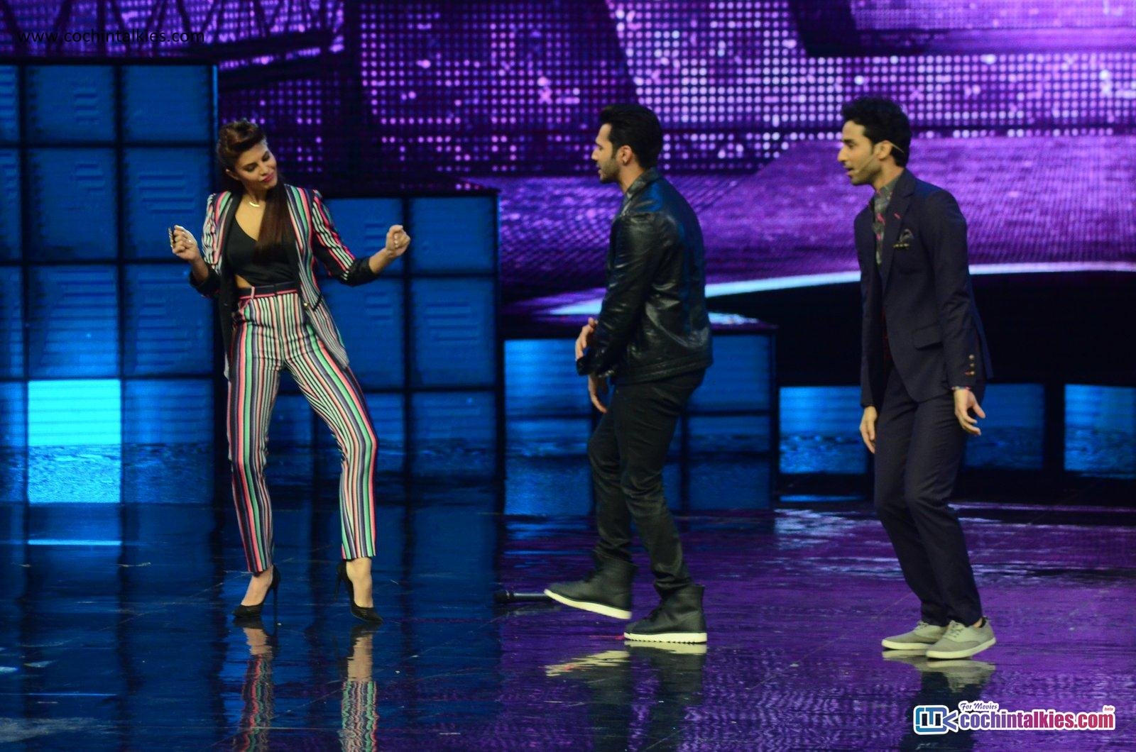 Varun Dhawan, Jacqueline at Dance Plus 2 promoting Dishoom 20