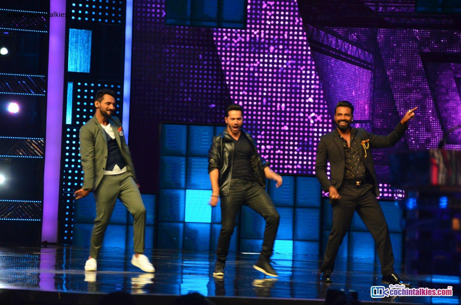 Varun Dhawan, Jacqueline at Dance Plus 2 promoting Dishoom