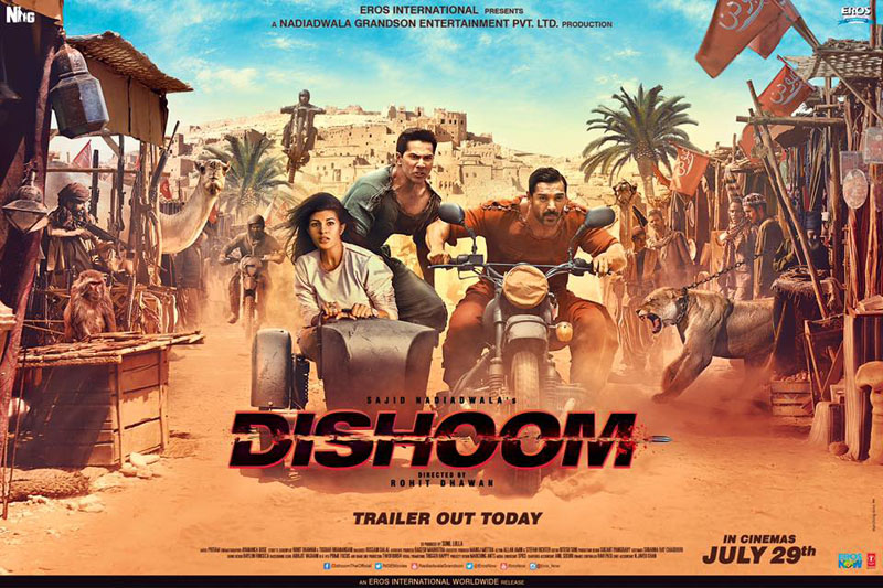 Varun Dhawan starrer 'Dishoom' leaked