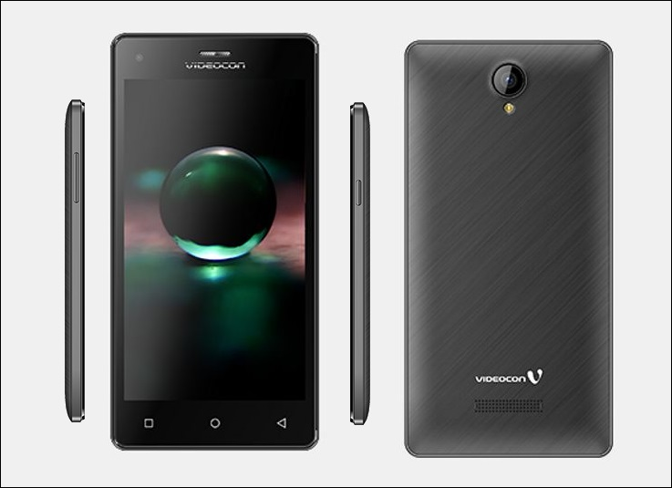 Videocon Krypton 2 V50GI Affordable Smartphone Listed on the company's Website