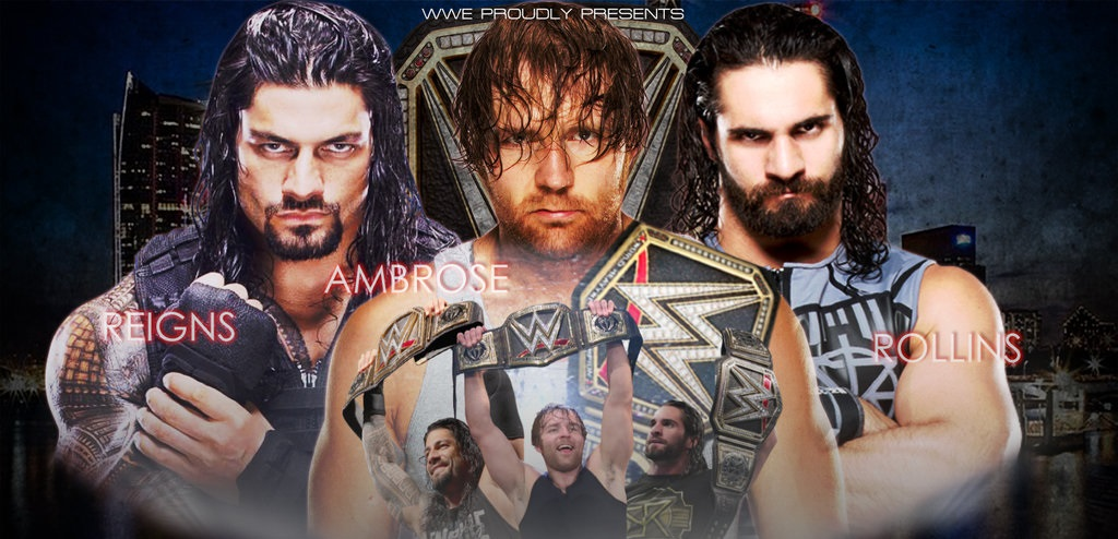 WWE-Battleground-2016-Dean-Ambrose-vs.-Seth-Rollins-vs.-Roman-Reigns-WWE-World-Heavyweight-Championship-Match