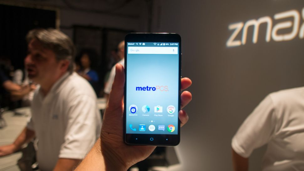 zte max pro cell phone read