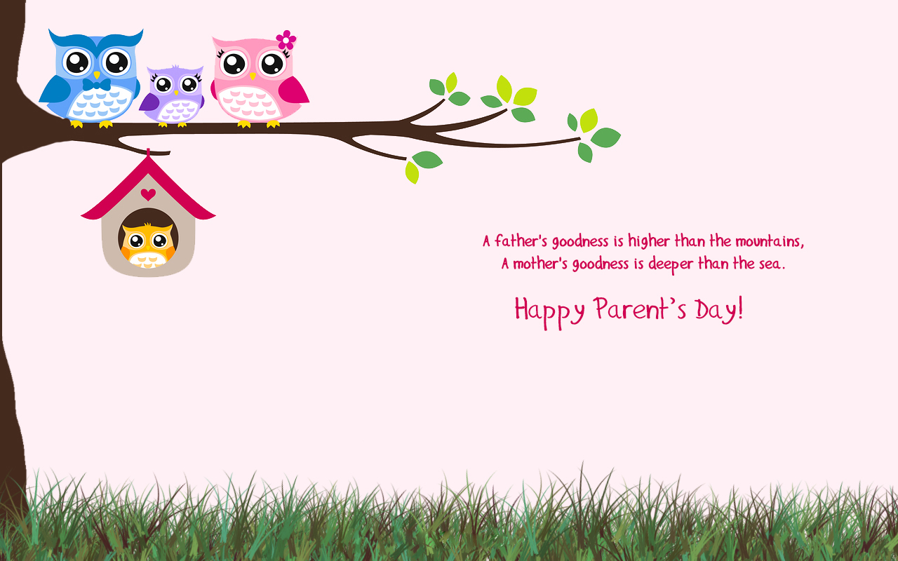 happy-parents-day-greetings-owl-family-birds-wallpaper