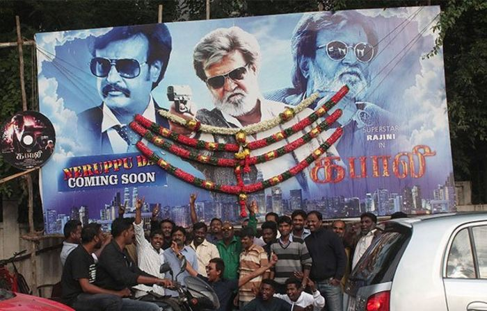 kabali film advance booking