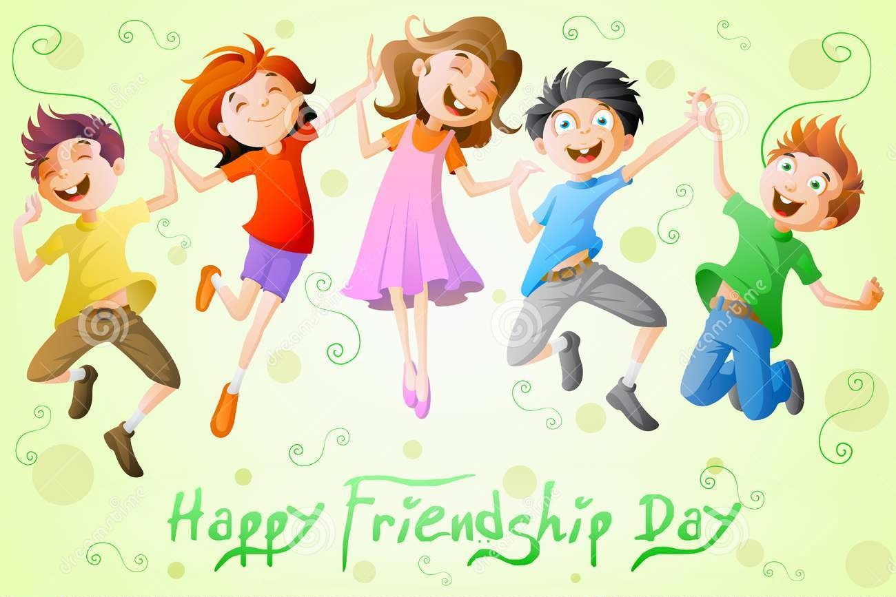 kids-celebrating-friendship-day-easy-to-edit-vector-illustration-32674749