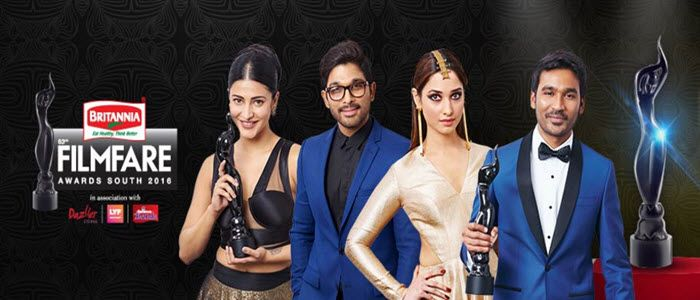 63rd Filmfare South Awards 7th July 2016 Video Performances
