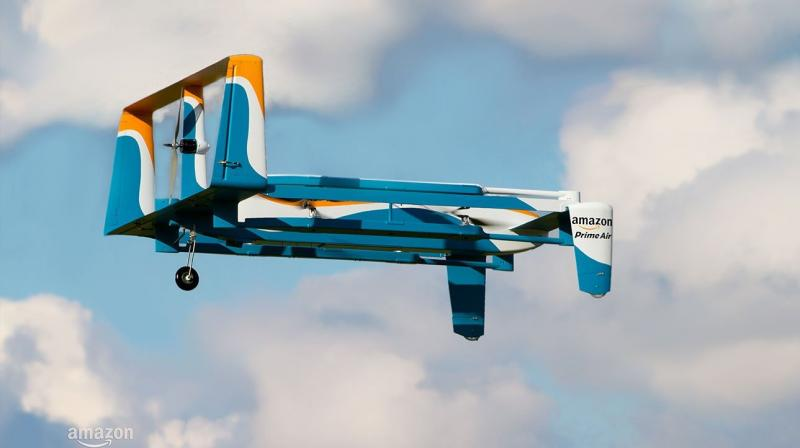Amazon finally launches its first 'Prime Air' plane