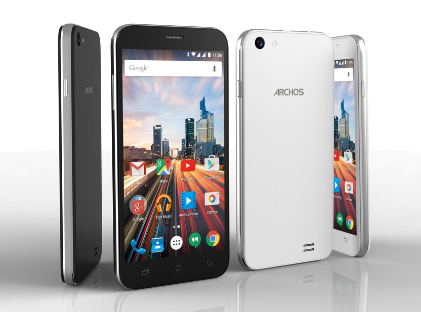 archos launched new 50f helium 55 helium smartphone. Black Bedroom Furniture Sets. Home Design Ideas