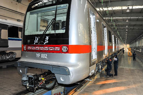 China to launch first driverless subway line in 2017 in Beijing