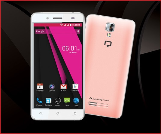 Reach Allure Speed Affordable 4G Smartphone launched in India at Rs. 4,299