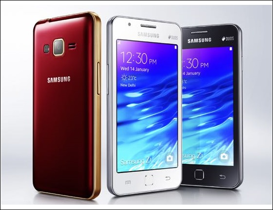 Samsung Z2 Tizen Affordable Smartphone is all set to launch in India Soon