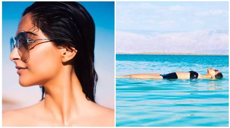 Sonam Kapoor looks blazing hot in a black bikini, see pics