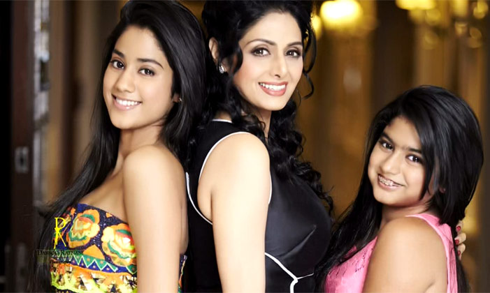 Sridevi saith that My Daughters Don't Discuss Careers