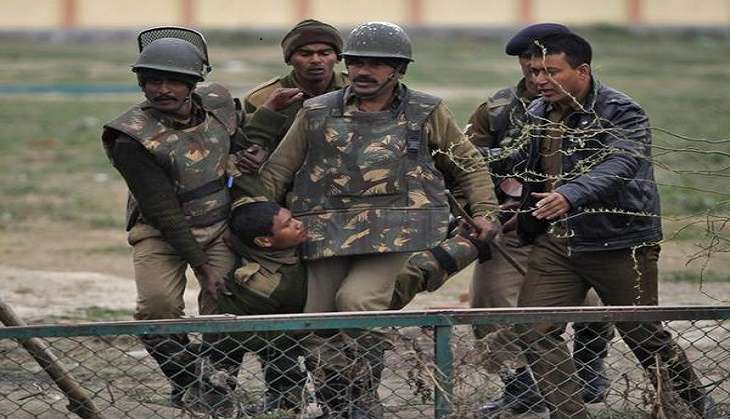 Two BSF personnel injured in IED blast