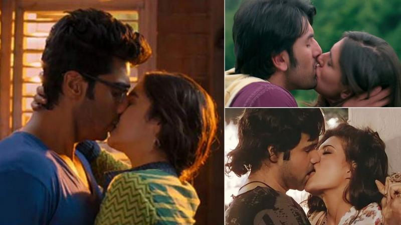 Watch Here are the hottest on-screen kisses of rising Bollywood actresses