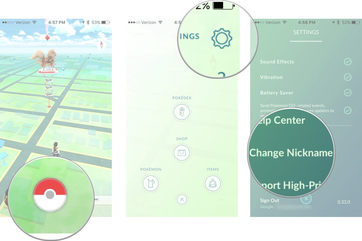 You can finally change your nickname on Pokemon Go1