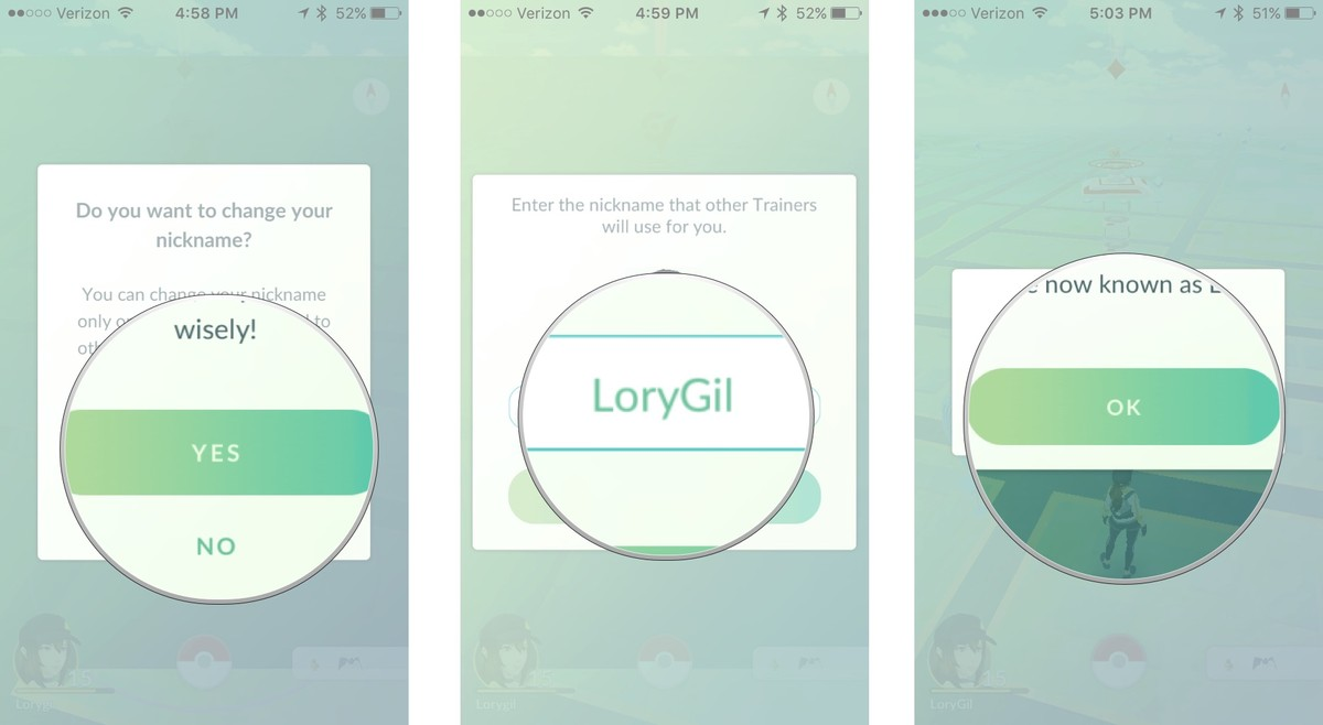 You can finally change your nickname on Pokemon Go2