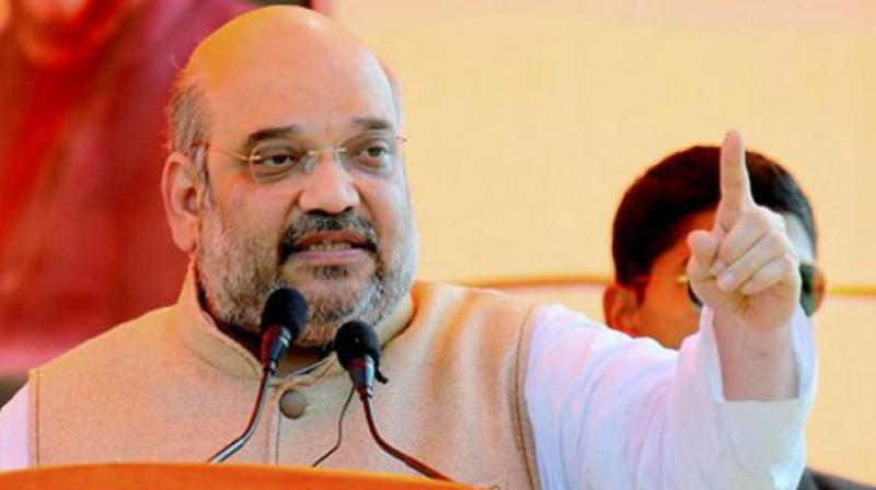 Amit Shah slams Nehru-Gandhi family for lack of development in country
