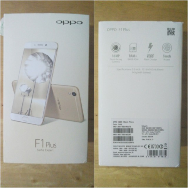oppo f1 plus unboxing