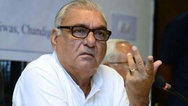 CBI conducts searches at ex-Haryana CM Hooda's residence, office