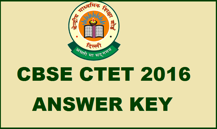cbse-ctet-answer-key-2016
