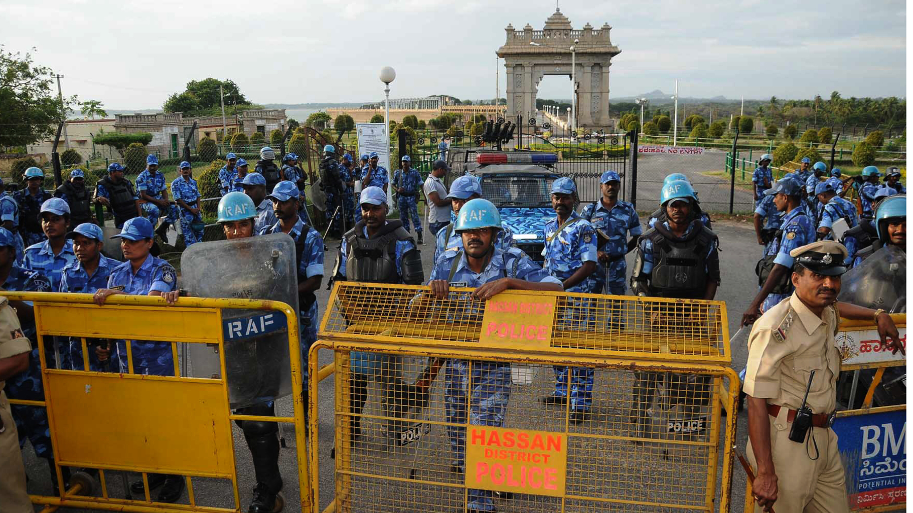 Cauvery-Protests