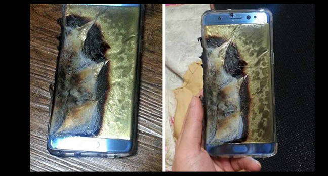 Samsung recalls Galaxy Note 7
