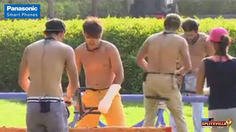 The boys look hilarious in this task! Comment below if you agree