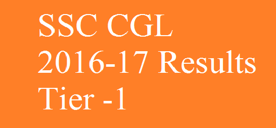 ssc-cgl-result-tier-1-2016