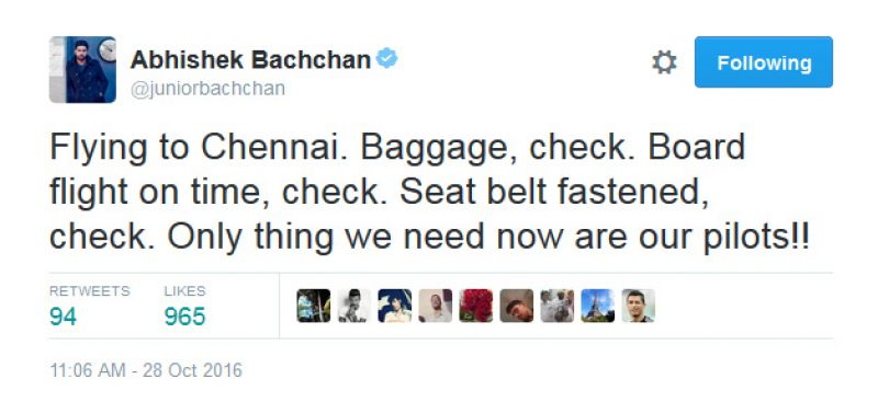 abhishek-bachchan-slams-airline-company-for-bad-service-and-ask-where-are-the-pilots