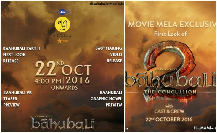 Baahubali 2 Release Date, Star Cast, First Look & Movie Trailer - All Updates