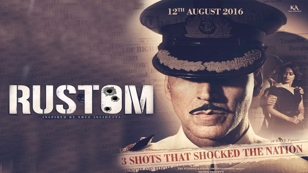 Watch 'Rustom' Movie World (Tv) Television Premiere Zee Tv, HD 16th