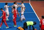 KUANTAN 21 0CTOBER 2016. Pemain Malaysia meraikan gol kelima ketika menentang China dalam Kejohanan Hoki Trofi Juara-Juara Asia kali ke 4 di Stadium Hoki Kuantan. NSTP/LUQMAN HAKIM ZUBIR