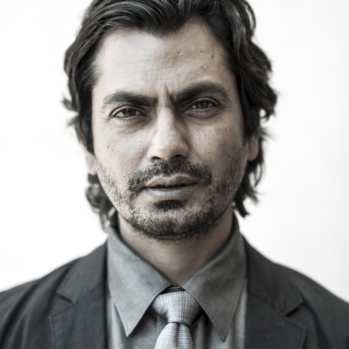DUBAI, UNITED ARAB EMIRATES - DECEMBER 11: Actor Nawazuddin Siddiqui during a portrait session at the 10th Annual Dubai International Film Festival held at the Madinat Jumeriah Complex on December 11, 2013 in Dubai, United Arab Emirates. (Photo by Gareth Cattermole/Getty Images for DIFF)