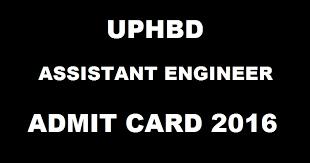 admit-card-of-uphdb-exam-2016