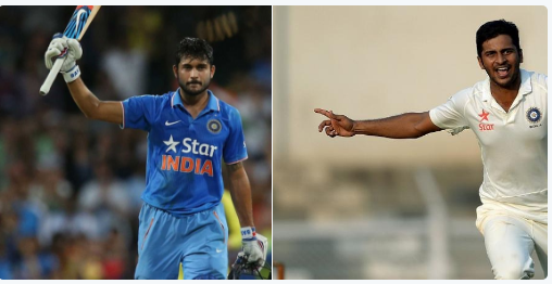 Manish Pandey and Shardul Thakur will replace two Indian