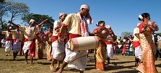 Happy bhogali magh bihu 2018 wishes quotes messages whatsapp status bhogali magh bihubihu of enjoyment is a harvest festival which is celebrated in assam india the festival marks the end of harvesting season in the month m4hsunfo